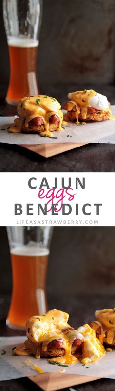 Cajun Eggs Benedict | Put a spin on classic homemade eggs benedict with this…