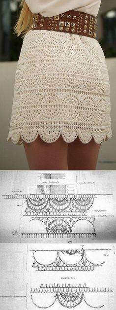 Fabulous Crochet a Little Black Crochet Dress Ideas. Georgeous Crochet a Little Black Crochet Dress Ideas. Crochet Skirt Outfit, Crochet Bikini Pattern, Crochet Poncho Patterns, Crochet Skirts, Crochet Blouse, Crochet Shawl, Crochet Clothes, Crochet Lace, Lace Skirt