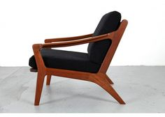 Danish Teak Armchair by Arne Wahl Iversen, 1960s for sale at Pamono