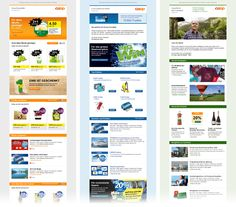 Coop Newsletter Revamp: 1 concept for 10 newsletters themes. #unic