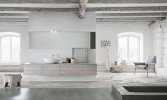 ...og her er en annen versjon av Linfa baderomsmøbel fra italienske Arbi Arredobagno <3 Dette også med sjarmerende treverk, myke farger, levende og naturlige overflater. Praktisk og avrundet håndtak integrert i skapdørene gir rene elegante frontpaneler med glatte linjer. #norfloor #arbi #stileitaliano