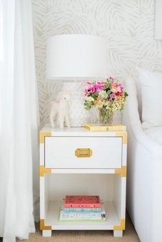 Girlu0027s Nightstand Styling | Mindy Gayer Design Co. Sunny California,  Playroom Decor, Kids
