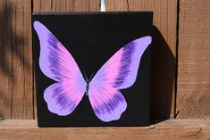 hippie painting ideas 391320655125239944 - Unique Purple and Pink Butterfly Painting on Canvas – – Source by Easy Canvas Art, Small Canvas Art, Mini Canvas Art, Canvas Ideas, Diy Canvas, Black Canvas Paintings, Simple Acrylic Paintings, Acrylic Painting Canvas, Canvas Painting Designs