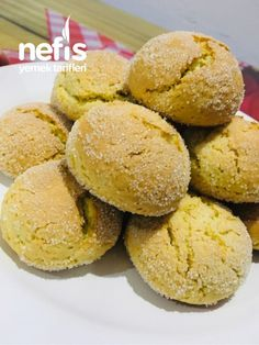Portakallı Kurabiye – Nefis Yemek Tarifleri – How to Make Orange Cookie Recipe? Illustrated explanation of the Orange Cookie Recipe in the book and photographs of those who try it are here. Cookie Recipe No Butter, Orange Cookies, Good Food, Yummy Food, Tailgate Food, Cookery Books, Beer Recipes, Yummy Recipes, Recipe Mix
