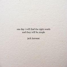 i am on my way — Jack Kerouac / The Dharma Bums