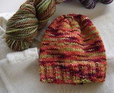 baby knit hat pattern
