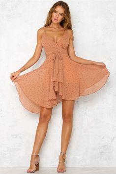 Sixty Six Midi Dress Tan