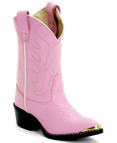 .i had a pair once! Old West Children's Pink Cowgirl Boots