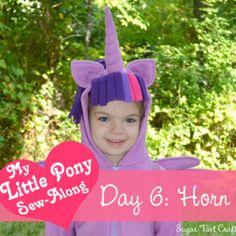 My Little Pony Costume Sew-Along – Day 6: Unicorn Horn