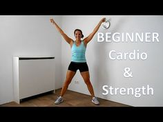 Beginner Cardio Workout - 40 Minute Low Impact Beginners Cardio & Strength Workout Routine - YouTube