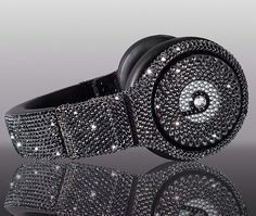 Swarovski Crystal Beats By Dre Pro Headphones - Made with Swarovski Elements bling beats by dre on Etsy, $700.00