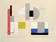 Félix Del Marle, Architekturkomposition, 1925