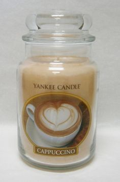 Cappuccino Large Jar Candle - Yankee Candle