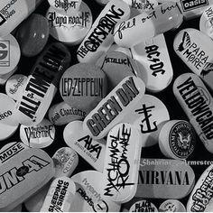 Music is my drug!! 100%