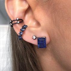 Fake Piercing, Cute Piercings, Daith Piercing, Nail Jewelry, Jewelery, Bling Bling, Girls Accessories, Jewelry Accessories, Piercings Bonitos