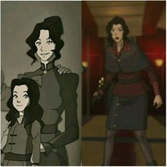 Asami has copied her mom's hairdo. | Book 4: Balance | The Legend of Korra | Avatar