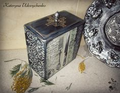 Handmade kitchen box.