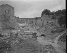 Demolição do Quartel da Cova da Moura, Lisboa, 1947