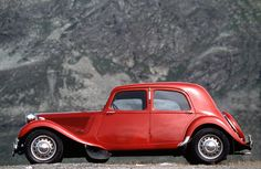 Citroen Traction Avant (1938). Keeping them in production from 1934 through 1957, The Traction Avant cars ( 7, 11, and 15) were an outstanding success for Citroen.