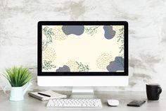 Boho Desktop Wallpaper Desktop Wallpaper Organized desktop   Etsy