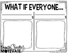 What if everybody did that? Freebie!