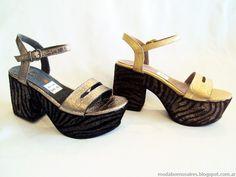 Moda primavera verano 2015 sandalias y zapatos.