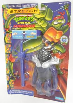 1997 TMNT Ninja Turtle Stretch Shredder