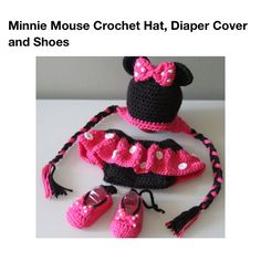 Minnie mouse crochet
