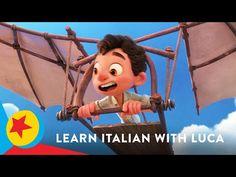 Italian Phrases, Learning Italian, Pixar, The Creator, Youtube, Pixar Characters, Learn Italian Language, Youtubers, Youtube Movies