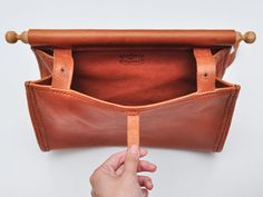 Eatable Of Many Orders Hand Made Leather Bag