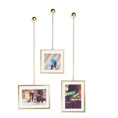 Umbra Ketting Fotolijst - set van 3 Bronze, Decoration, Blog, Sweet Home, Gallery Wall, Cool Stuff, Frame, Home Decor, Woody