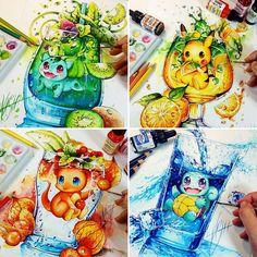 Pokemon catch them all! - Pokemon catch them all! Cute Animal Drawings, Kawaii Drawings, Disney Drawings, Cute Drawings, Pokemon Fan Art, Fotos Do Pokemon, Les Pokemon, Pokemon Fusion, Pokemon Cards