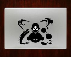 DecalOnTop.com - Avatar Aang 2 The Last Airbender Macbook Pro / Air 13 Decal Stickers, $8.99 (https://www.decalontop.com/avatar-aang-2-the-last-airbender-macbook-decal-stickers/)