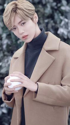 Lu Han 鹿晗 || [ Cr: 麋鹿茶香 ] Big Bang Top, Kim Minseok, Gu Family Books, Wu Yi Fan, Exo Korean, Exo Ot12, Kpop Exo, Kris Wu, Jung Yong Hwa