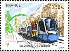 French tram stamp.