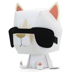 DIY Your Very Own Karl Lagerfeld 3D Paper Doll, Here's Where to Download the Pattern!