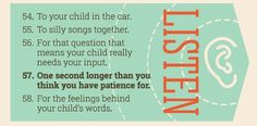 Your child is a beginner at conversation. Great ideas about the importance of listening, and strategies to teach kids how to have good conversations.