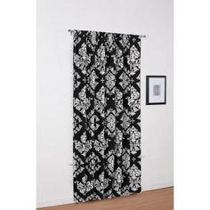 Classic Noir Window Panel, Black and White - Walmart.com