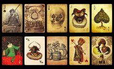 Stranger and Stranger Christmas Playing Cards