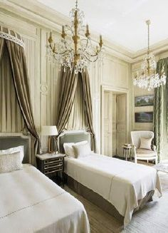COCOCOZY: REGAL BEDS - CLASSIC FRENCH BEDROOMS