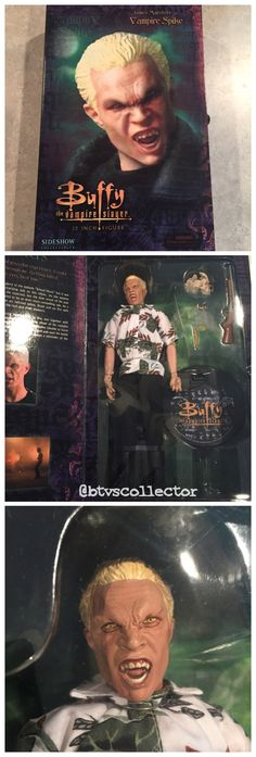 """Sideshow Collectibles (1:6 Scale) 12"""" Buffy the Vampire Slayer Figure - Vampire Spike - Exclusive version with Hawaiian Shirt. Limited to 750. #btvscollector #btvs #buffy #buffythevampireslayer"""