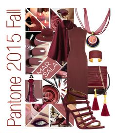 """""""Fall Fashion Colors Pantone 2015: Marsala"""" by blukatdesign ❤ liked on Polyvore featuring ALDO, Vince Camuto, WearAll, Coach, BaubleBar, Aspinal of London, women's clothing, women, female and woman"""