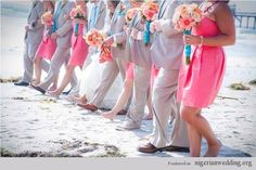 Wedding Theme: Teal  Coral | wedding-ideas
