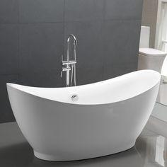 "Found it at Wayfair - 67.5"" x 24"" Freestanding Soaking Bathtub"