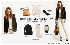 "February 2012   Shopbop ""Our Ultimate Closet"" The Workwear Edition 14 Pieces 10 Looks  [Look 06]"