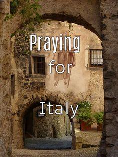 Please pray for Italy.
