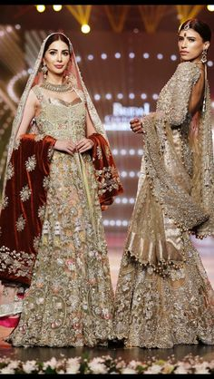 elanofficial: Our bridals featured in The Grand Couturiers section at the Telenor Bridal Couture Week Pakistani Bridal Couture, Pakistani Wedding Outfits, Bridal Lehenga, Pakistani Dresses, Indian Outfits, Bollywood Dress, Bridal Outfits, Indian Bridal, Indian Dresses