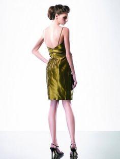 Chartreuse dress. Beautiful