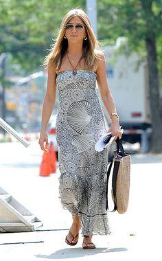 Casual Sundays: Get Jennifer Aniston's Bohemian Babe Look for Less  Jennifer Aniston