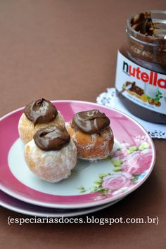 Mini sonho com Nutella